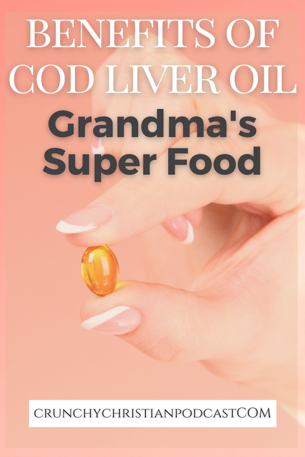 Join Julie on Crunchy Christian Podcast as she talks about the benefits of cod liver oil, grandma's super food for the cold weather months.