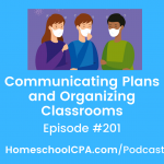 Communicating Plans and Organizing Classrooms