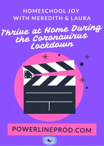 Thrive at Home During the Coronavirus Lockdown