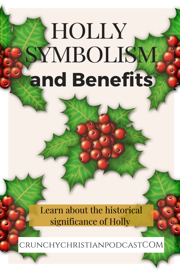 Learn more about holly symbolism, its roots in pagan traditions and beliefs, and its beneficial uses on this episode.