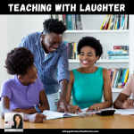 Teaching With Humor | Just thinking about teaching with humor makes me smile. I stumbled across this recently when I tried this technique first-hand. It worked! I can't wait to share the details with you. | #podcast #homeschoolpodcast