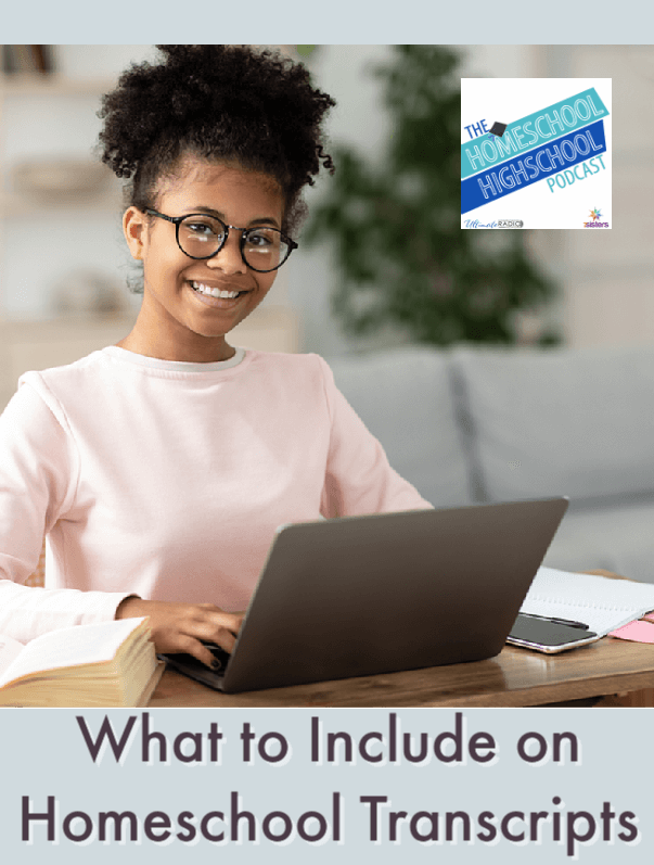 What to Include on Homeschool Transcripts