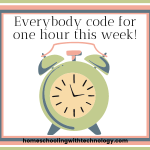 Everybody code for one hour this week!