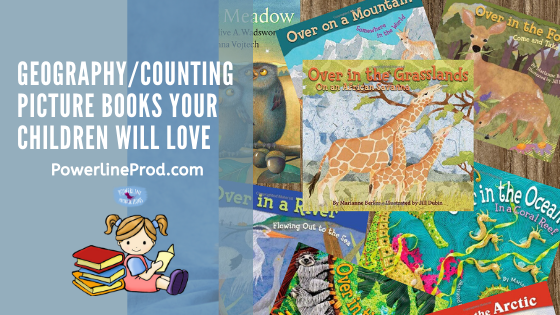 PowerlineProd.com Blog, Geography/Counting Picture Books Your Children will Love, by Meredith Curtis