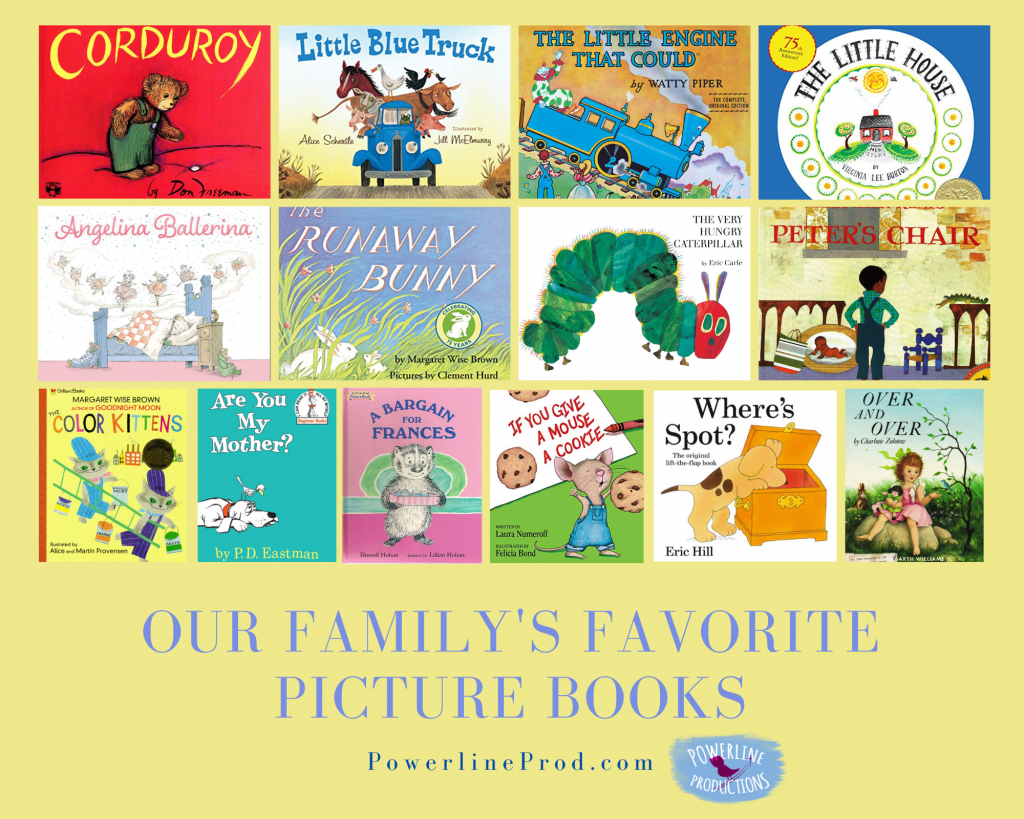Powerlineprod.com Blog, Our Family's Favorite Picture Books, by Meredith Curtis