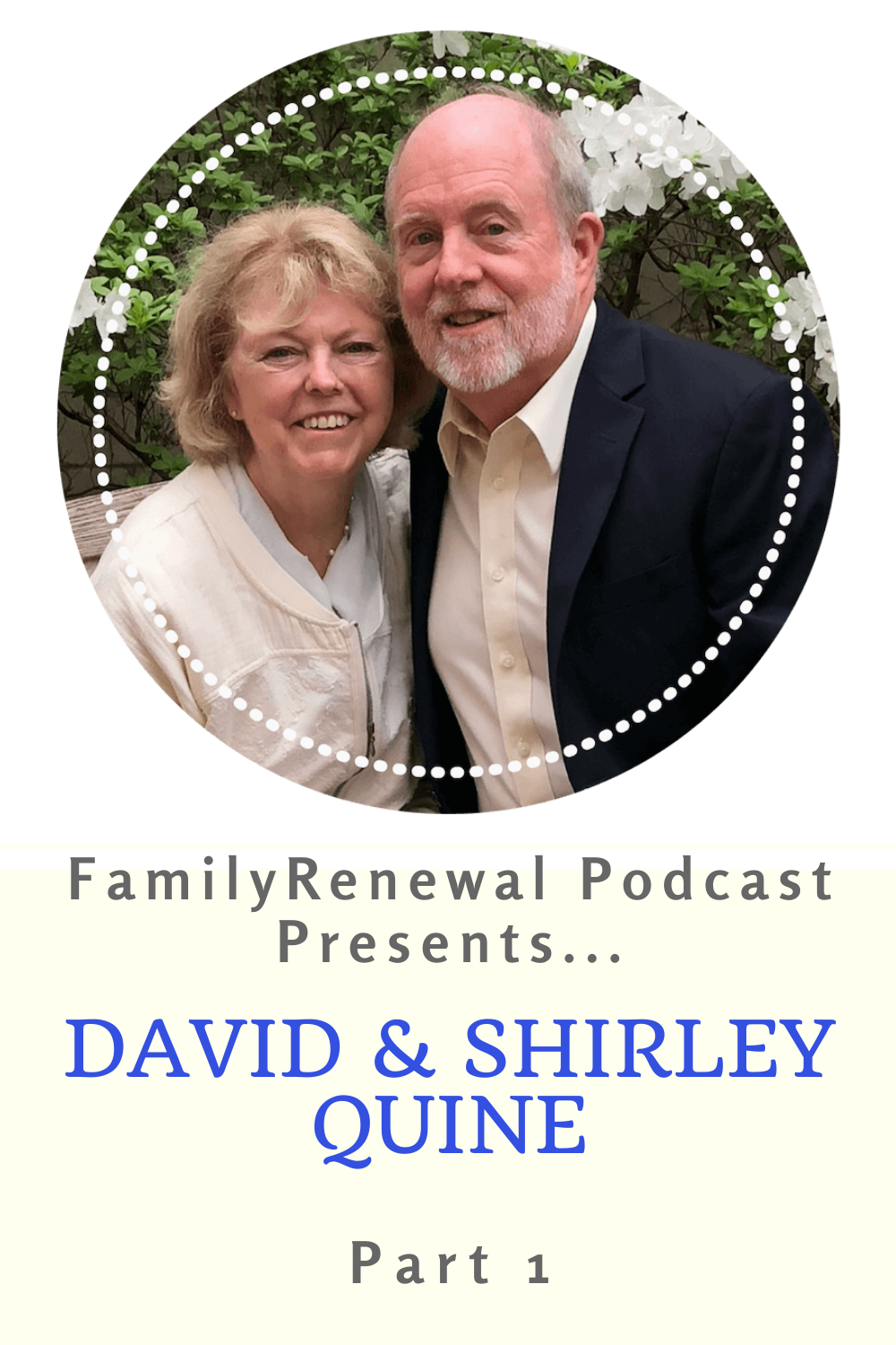 In this episode, Israel Wayne introduces David & Shirley Quine. They are homeschooling pioneers, parents of nine, and founders of Cornerstone Curriculum.