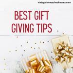 Best Gift Giving Tips