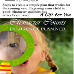 FREE Character Counts: Diligence Planner