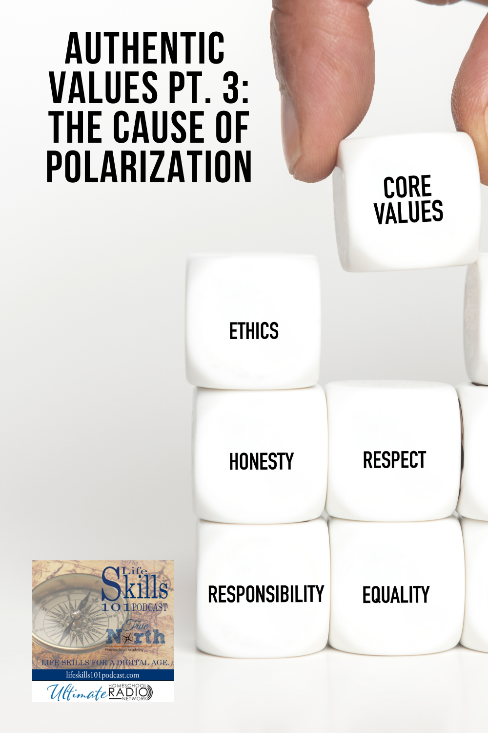Authentic Values: The Cause of Polarization