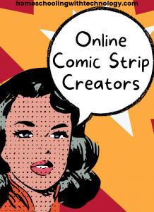 Online comic strip creators