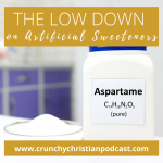 The Low Down on Artificial Sweeteners