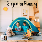 Staycation Planning | If you are not sure how to plan a staycation, stay tuned – this episode is just for you! We will learn how to plan your staycation and enjoy the time with family and friends. #podcast #staycation #homeschoolpodcast