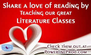 Powerline Productions Ad - Love Reading - Teach Literature