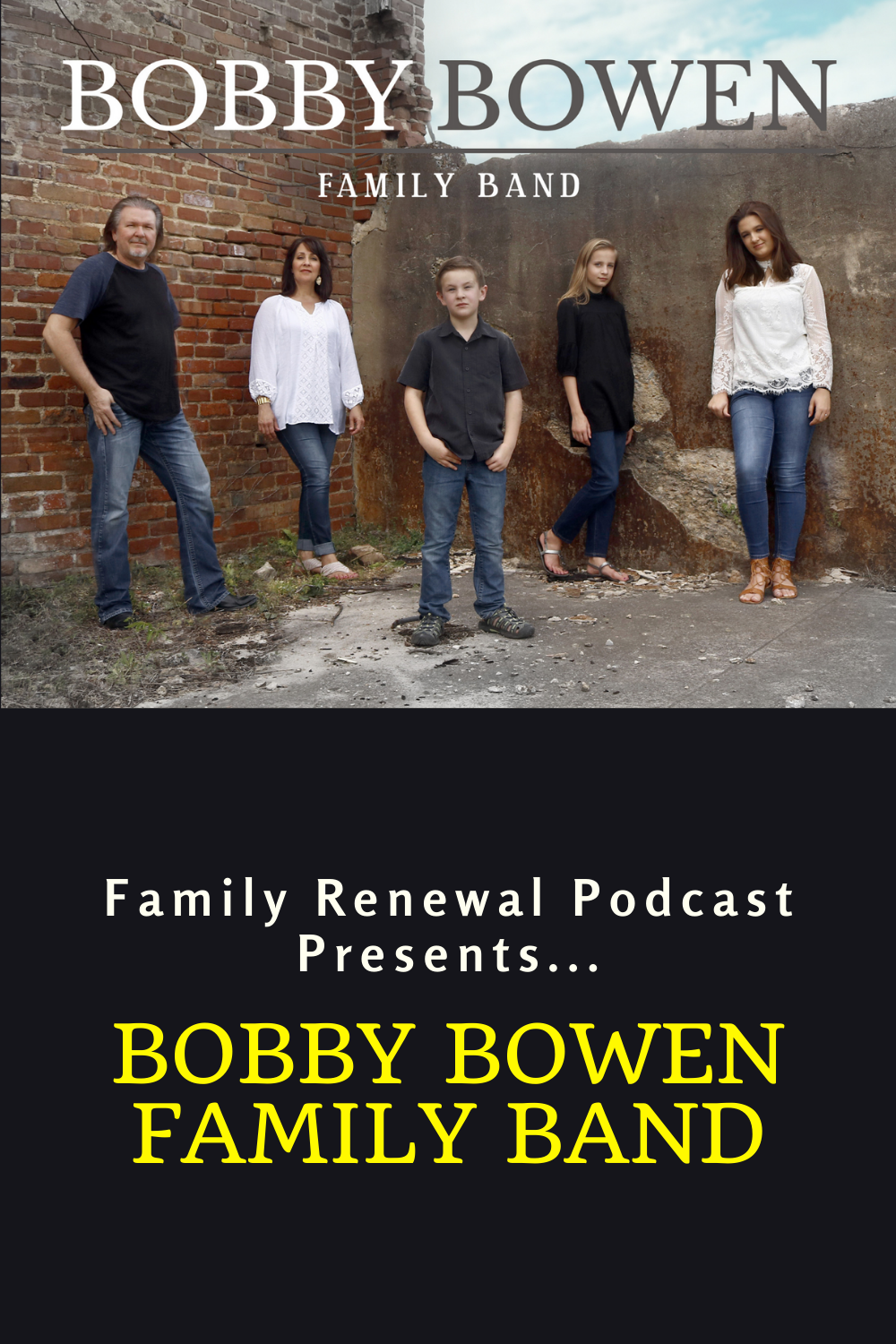 In this interview, Israel Wayne discusses with Bobby his transition from being part of a band full of guys to traveling together and singing with his family.