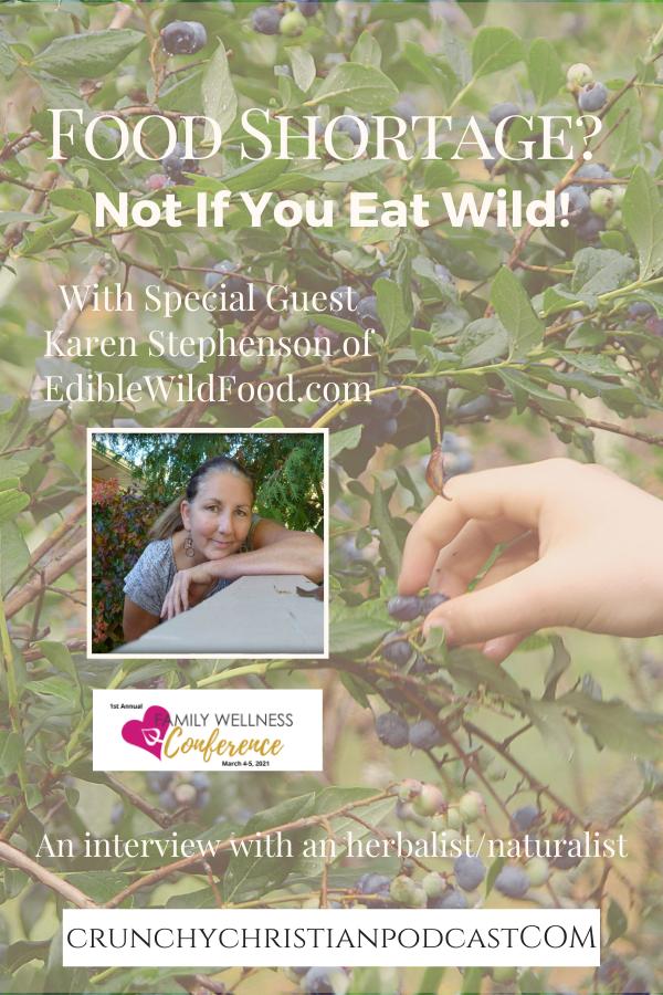eating edible wild foods