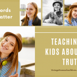 Teaching Kids About Truth | We all want our kids to tell the truth, and it is time that we focus on teaching truth. How do we do this? How do we teach our children to discern what is true in our toxic culture? Well gather the kids - this is another just for kids and teens this time, episode.| #podcast #homeschoolpodcast #truth #teachingtruth #lieshurt #truthfulness