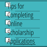 Tips for completing online scholarship applications