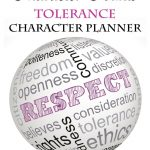 FREE Character Counts: Tolerance Character Study Planner