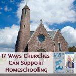 Finish Well Homeschool Podcast, Podcast #133, 17 Ways Churches Can Support Homeschooling, with Meredith Curtis on the Ultimate Homeschool Podcast Network