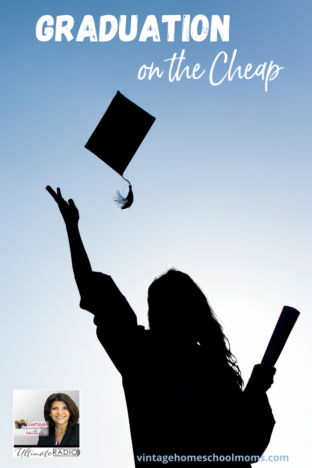 Inexpensive Graduation Ideas | Homeschooling families can benefit from frugal ideas for graduation | graduation on the cheap #podcast #homeschoolpodcast #graduationideas #inexpensivegraduationideas