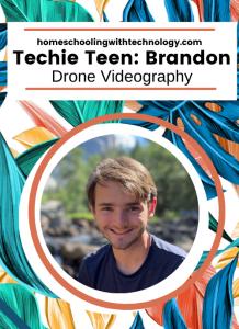 Techie Teen Brandon: Drone Videography