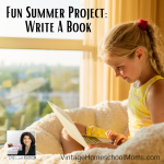 Why write? It is fun, and what better fun summer project than to write a book.