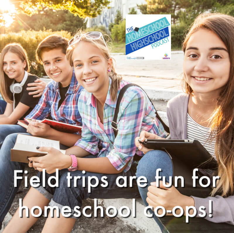 Field trips are fun for homeschool co-ops