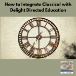 In this episode Tamara Pool is sharing with us how to integrate the time test educational method of classical education with delight directed learning