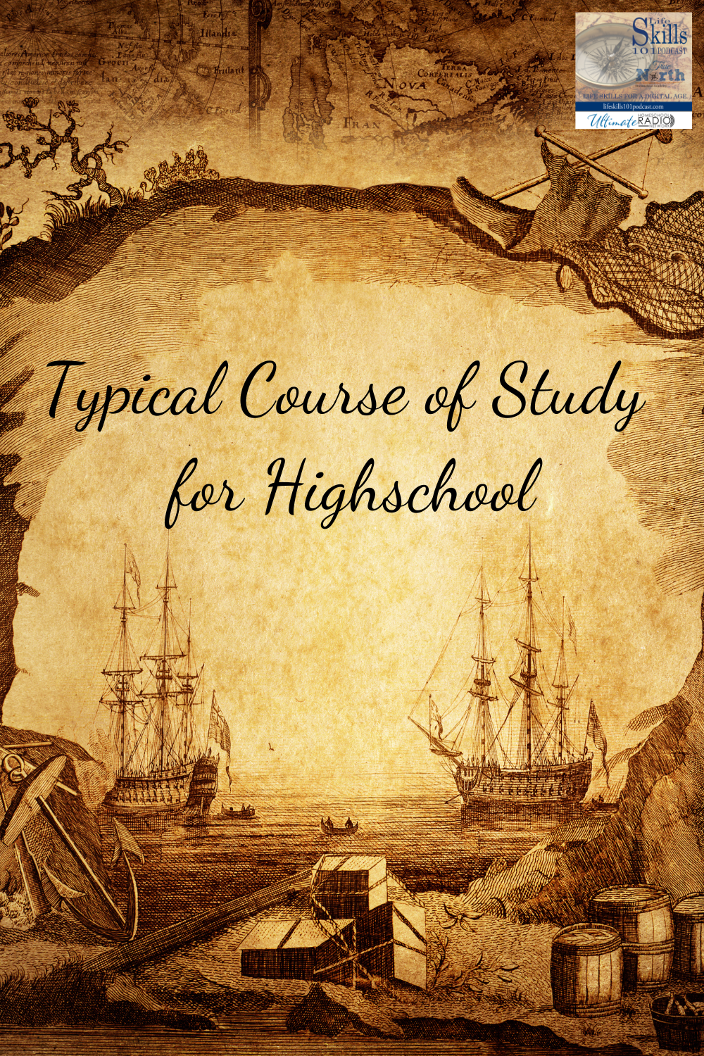 One of the big concerns about homeschooling high school is determining what to study.
