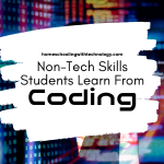 Non-tech skills students learn from coding