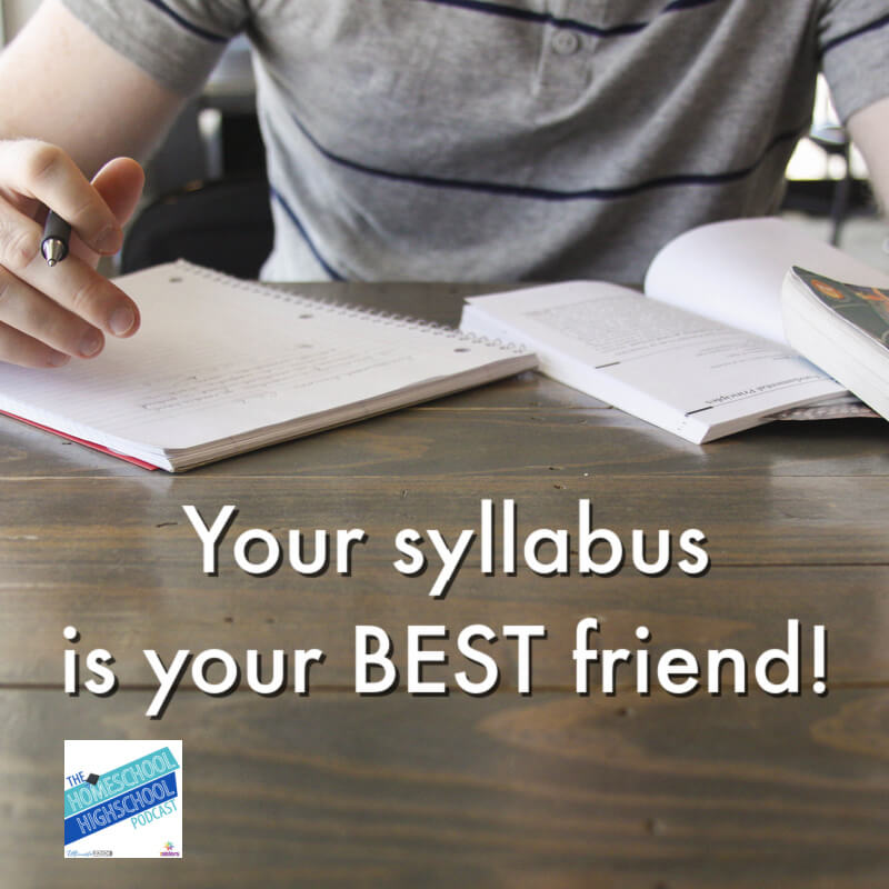 Your syllabus is your BEST friend in college classes.