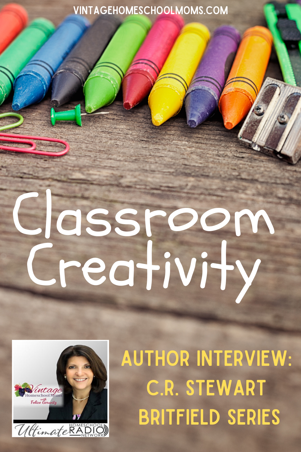 Classroom creativity is so much more than arts and crafts, yet with so many subjects to cover classroom creativity may be the last thing you as a parent think is important, especially in the home. Today along with my special guest, Chad Stewart we will learn that it is important to overall education.