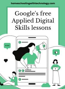 Google's free applied digital skills lessons