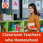 What happens when classroom teachers decide to homeschool their own children?
