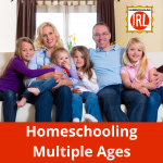 How does a homeschooling parent possibly educate older kids while at the same time juggling preschoolers, toddlers, and babies?