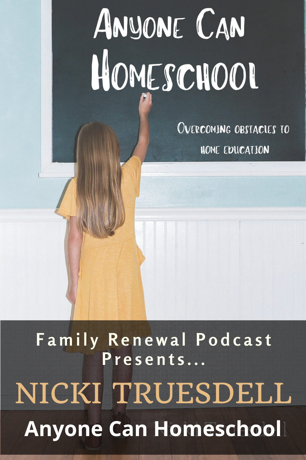 """Nicki Truesdell joins Israel Wayne to discuss the question, """"Can everyone homeschool?"""" What about single parents? What about special needs situations? What about the parent who doesn't feel qualified?"""