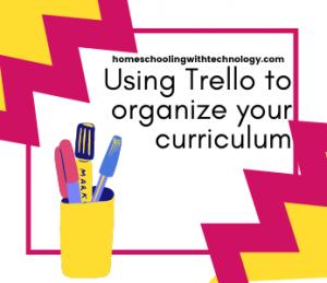 Using Trello to organize your curriculum
