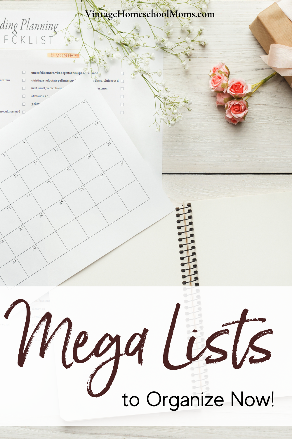 Learn about mega lists the easy way to organize now! Homeschool. Meals. Laundry. Oh, my. That is how I felt when I was attempting to school my kids as well as complete my other homeschool duties.