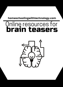Online Resources for brain teaserss